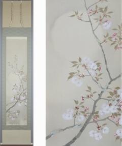 益田蘆湖  宵桜