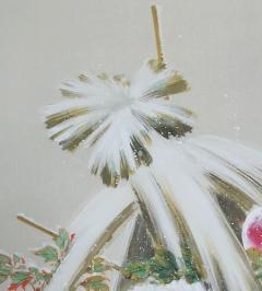 小林立堂 寒牡丹