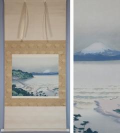 小島一谿  眺望富士