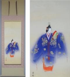 金武 翠輝 井筒 (能画)