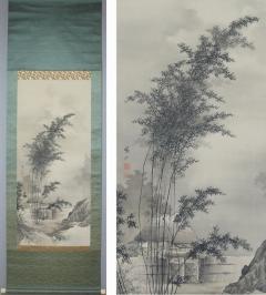 寺尾鵞仙 秋月之図