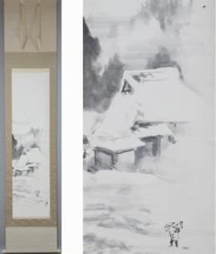 森月城 雪景風情