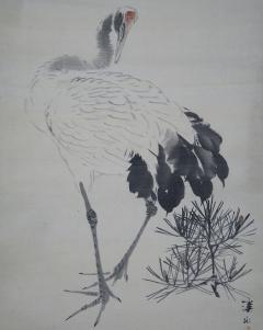 伊藤渓水 旭日鶴