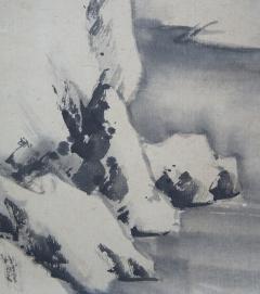 肥田景雲 雪溪山水