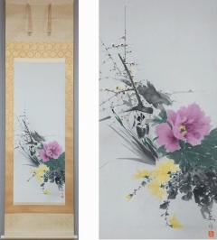 井出岳水 四季の花