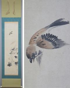 堀江和聲 花鳥図