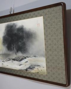 川村憲邦 青緑風景 (新品額)