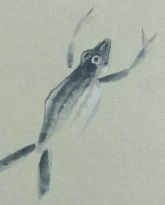 碧涛 蛙之図