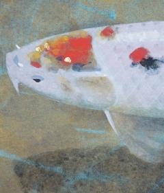 利倉群青 鯉