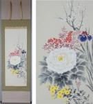「三宅和光 四季花」年中掛け掛け軸を追加致しました
